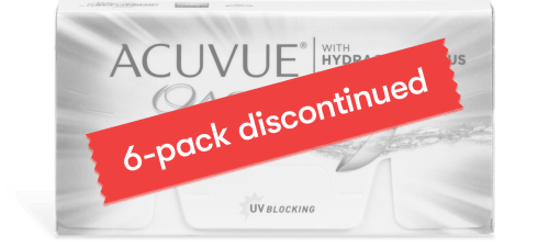ACUVUE® OASYS® with HYDRACLEAR® PLUS 6pk
