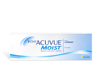 Product image of 1-DAY ACUVUE® MOIST® 30pk