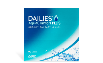 Product image of DAILIES AquaComfort Plus 90pk