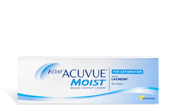 Product image of 1-DAY ACUVUE® MOIST® for ASTIGMATISM 30pk