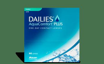 Product image of DAILIES AquaComfort Plus Toric 90pk