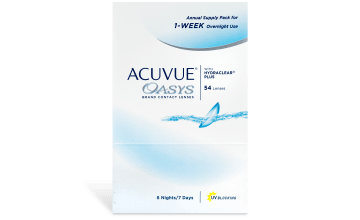 Product image of ACUVUE® OASYS® Annual Pack for Overnight Use