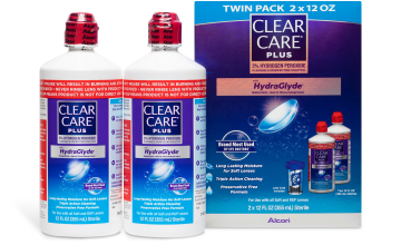 Product image of CLEAR CARE® Plus Solution 2pk