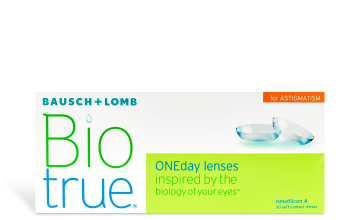 Product image of Biotrue ONEday Astigmatism 30 pack
