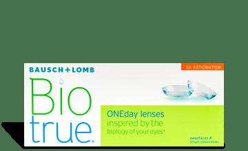 Product image of Biotrue ONEday Astigmatism 30 pack