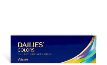 Product image of DAILIES® COLORS 30 pk