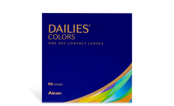 Product image of DAILIES® COLORS 90 pk