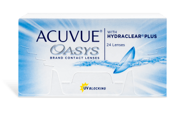 ACUVUE® OASYS® with HYDRACLEAR® PLUS 24pk
