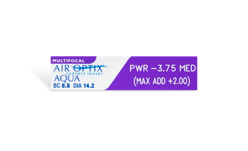 Air Optix Aqua Multifocal 6pk
