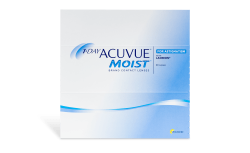 1-DAY ACUVUE® MOIST® for ASTIGMATISM 90pk