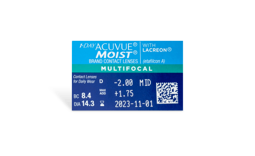 1-DAY ACUVUE® MOIST® Multifocal 30pk