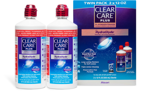 CLEAR CARE® Plus Solution 2pk