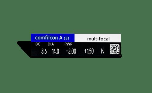 Biofinity Multifocal 3pk
