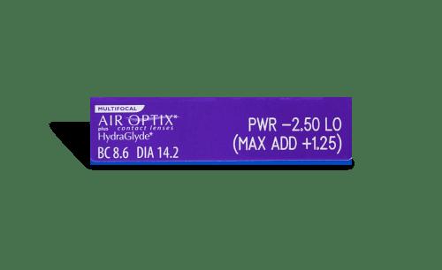 AIR OPTIX® plus HydraGlyde® Multifocal