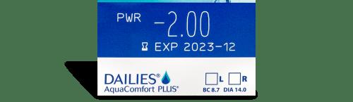 DAILIES AquaComfort Plus 30pk