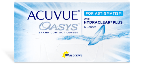 ACUVUE® OASYS® for ASTIGMATISM