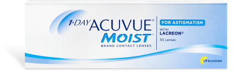 1-DAY ACUVUE® MOIST® for ASTIGMATISM 30pk