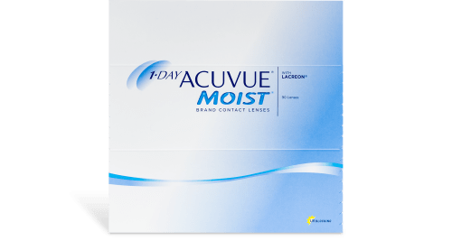 1 Day Acuvue Moist 90 Pack Contact Lenses 1 800 Contacts