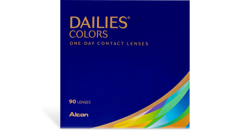 DAILIES® COLORS 90 pk