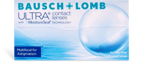 Bausch + Lomb ULTRA Multifocal for Astigmatism 6pk