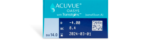 ACUVUE® OASYS with Transitions™ 25pk