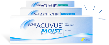 1-day Acuvue 90pk advertisement